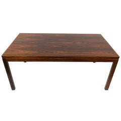 Fir and Jacaranda Scandinavian Modern Coffee Table