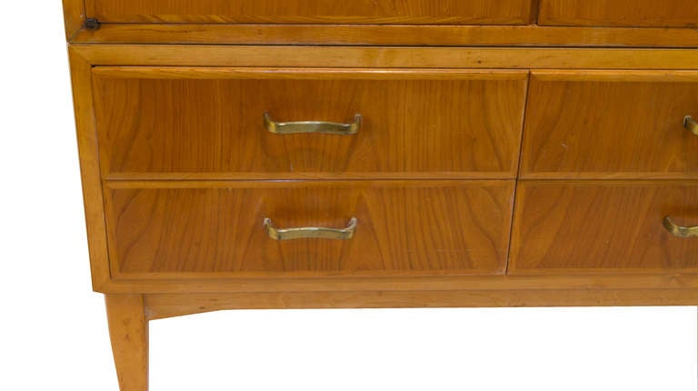 Mid-Century Modern Armoire In Excellent Condition In New York, NY