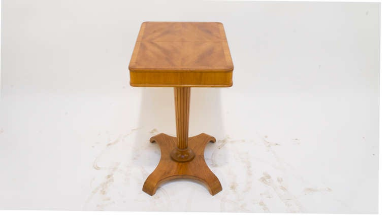 Swedish Art Deco Occasional Table For Sale