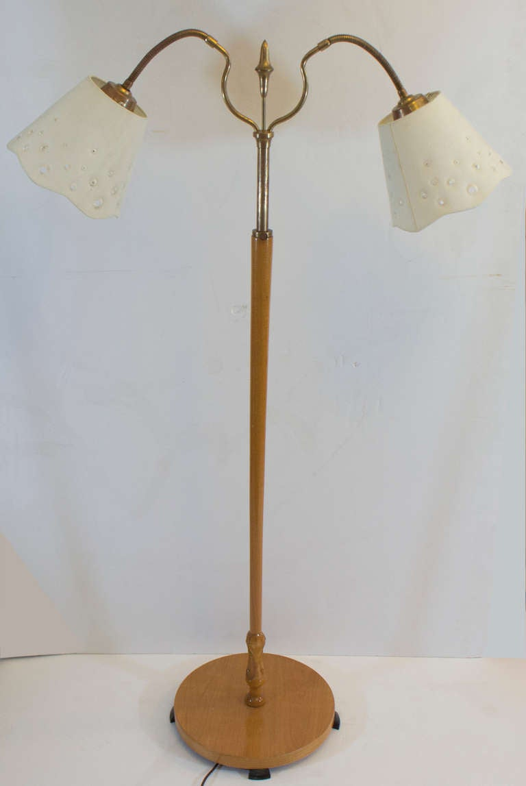 A Mid Century Modern Floor Lamp For Sale At 1stdibs