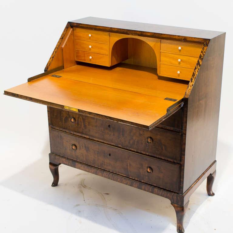 art deco secretary at 1stdibs. Black Bedroom Furniture Sets. Home Design Ideas