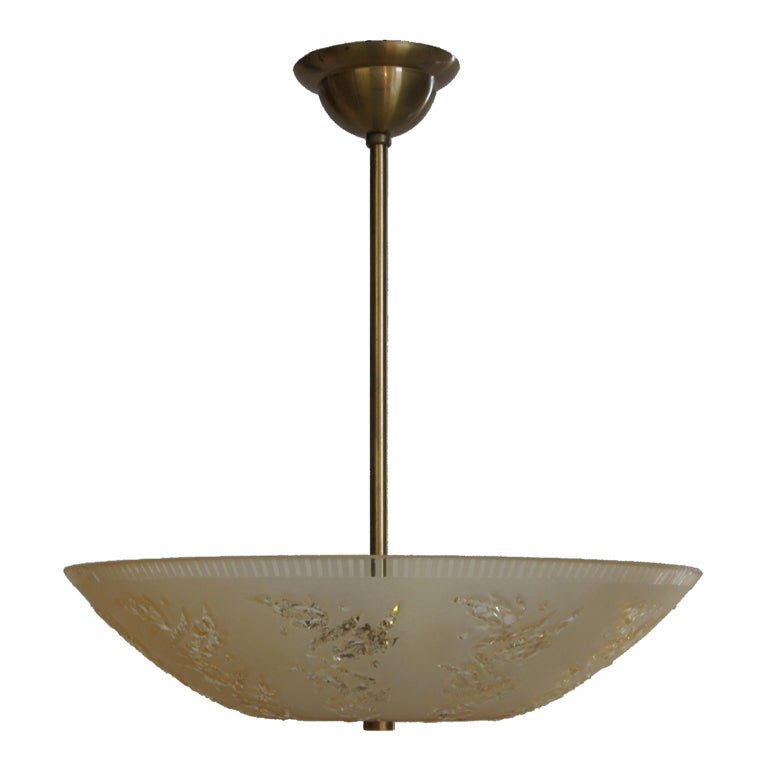 mid century swedish light fixture for sale at 1stdibs