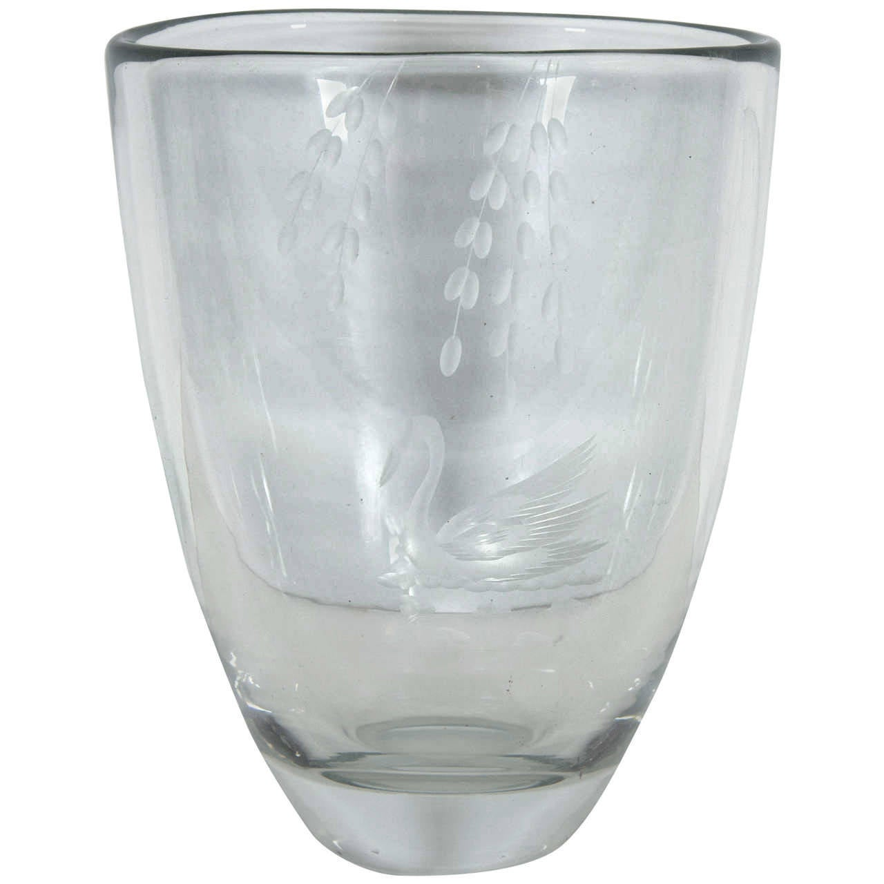 Leda and the swan mythology crystal vase for sale at 1stdibs leda and the swan mythology crystal vase 1 floridaeventfo Choice Image
