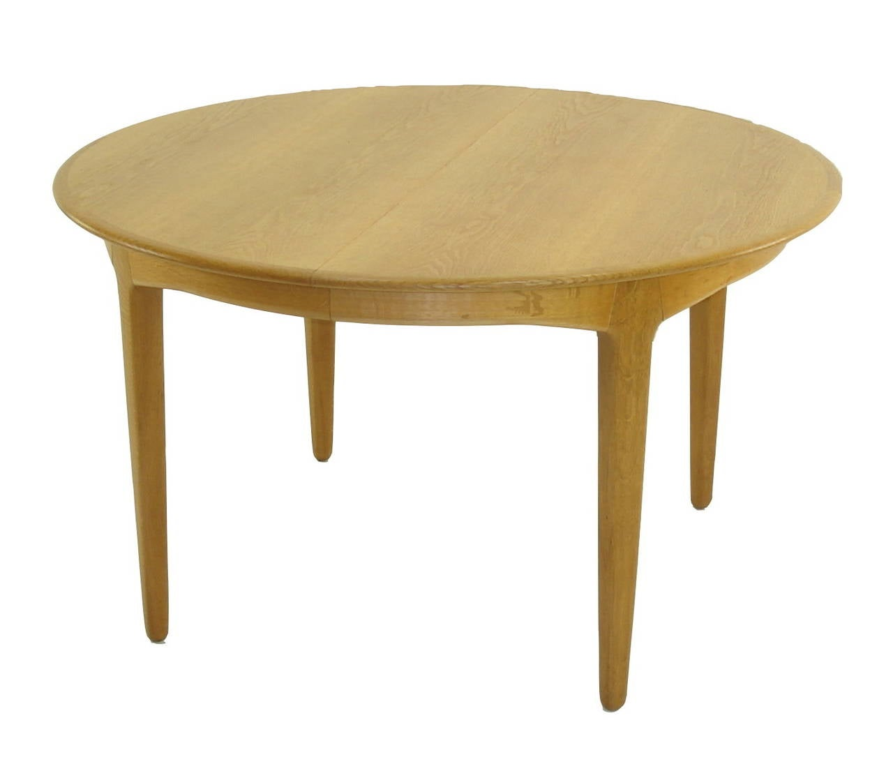 Danish modern oak dining table designed by ib kofod larsen for Modern oak dining table