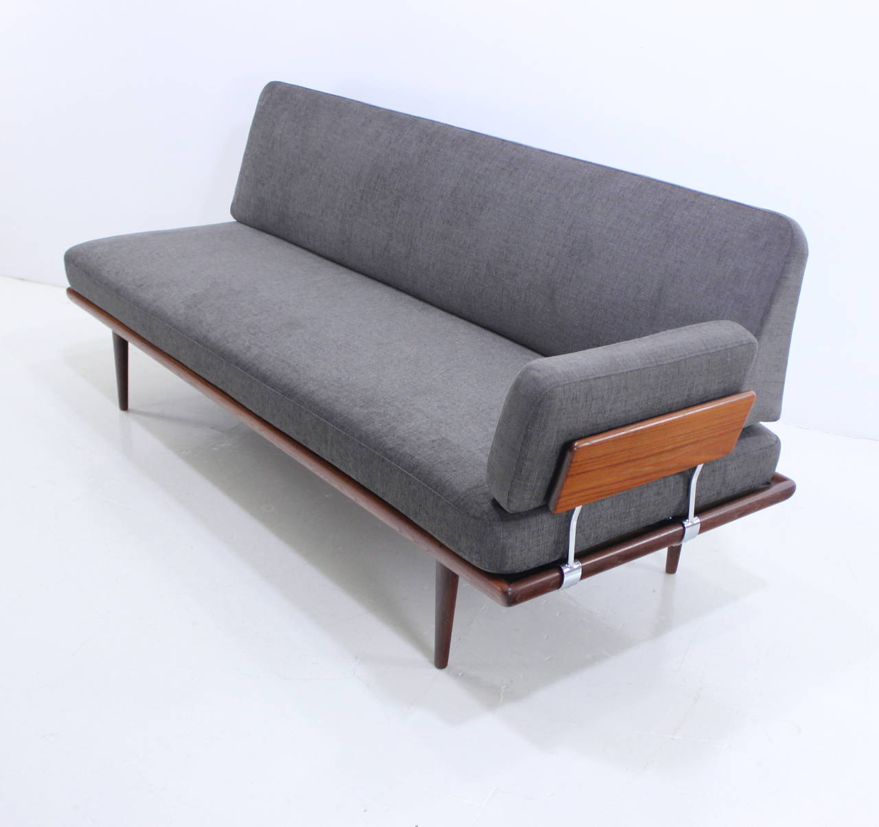 Exceptional Danish Modern Teak Seating Group Designed By Peter Hvidt At 1stdibs