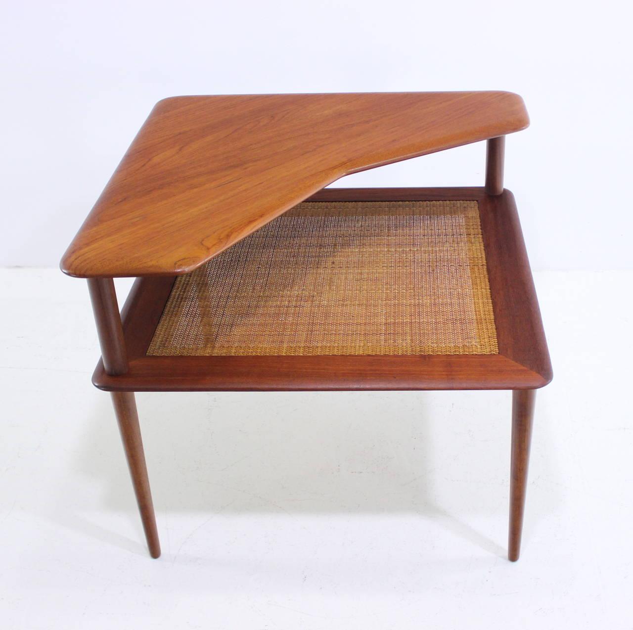 Exceptional Danish Modern Teak Seating Group Designed By Peter Hvidt For Sale