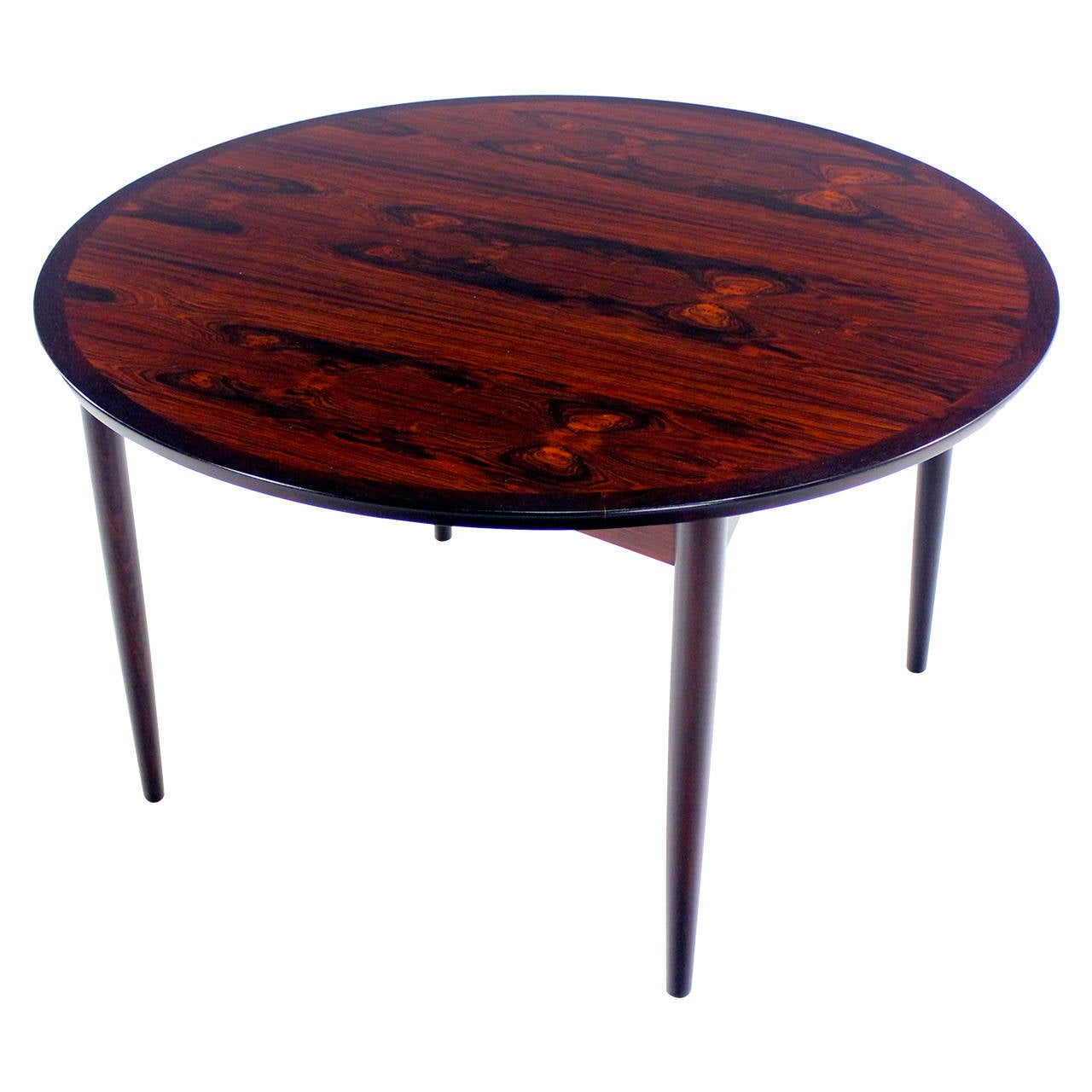 Danish modern rosewood cocktail table at 1stdibs for Cocktail tables for sale in kzn