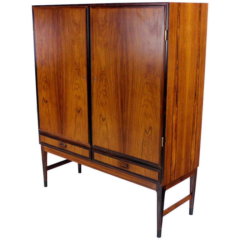 Danish Modern Rosewood Cabinet At 1stdibs