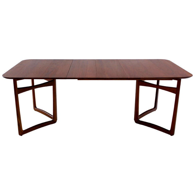 Rare Danish Modern Solid Teak Dining Table Designed by  : 1156386l from www.1stdibs.com size 768 x 768 jpeg 22kB