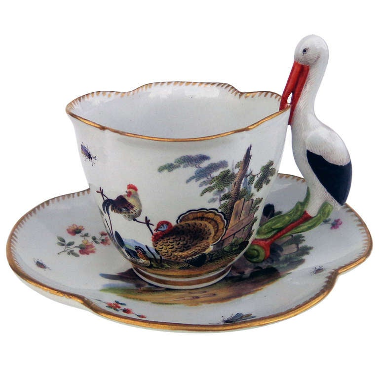 18th Century Meissen Cup And Saucer At 1stdibs