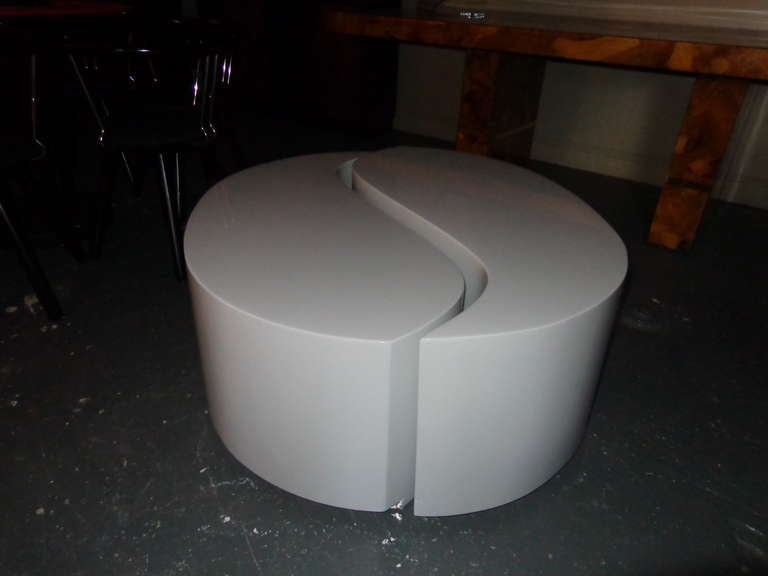 two piece yin yang coffee table at 1stdibs