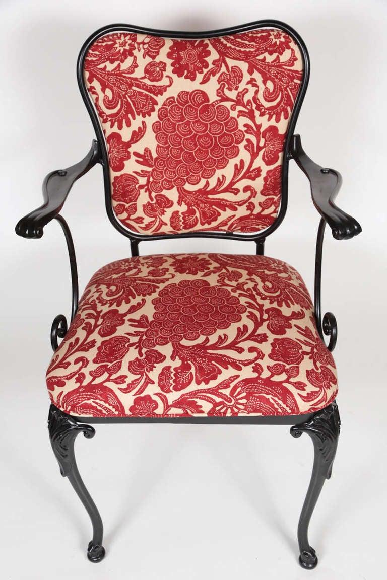 Mid Century Iron Patio Chairs: Mid Century Iron Patio Chairs At 1stdibs