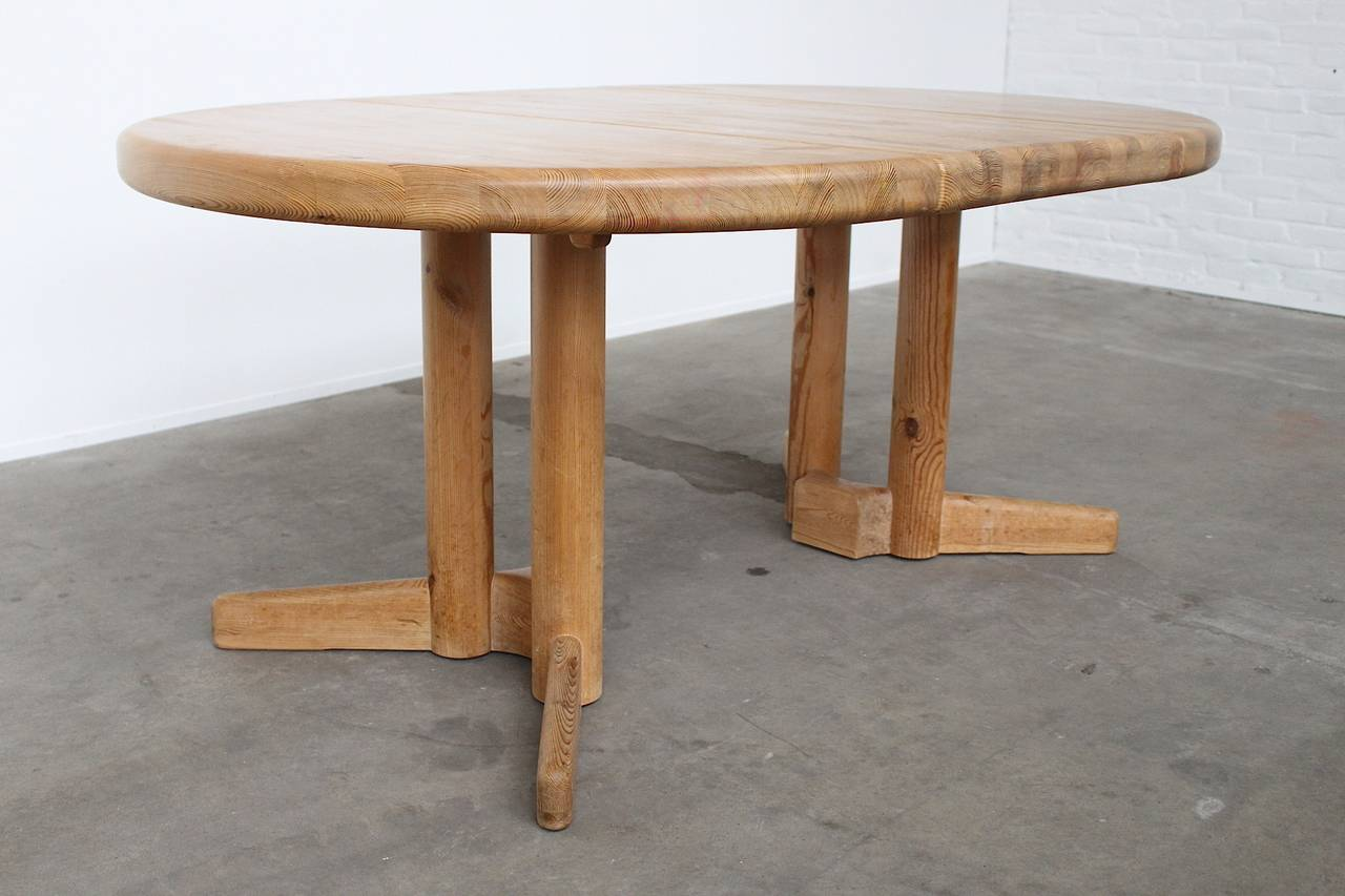 Pine Extendable Dining Table by Rainer Daumiller, Denmark, 1970