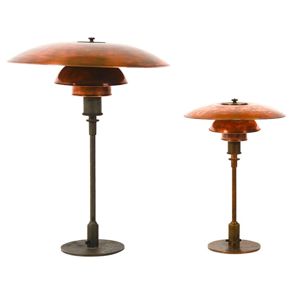 extremely rare big ph 4 5 3 lamp poul henningsen louis. Black Bedroom Furniture Sets. Home Design Ideas