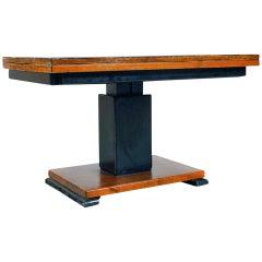 "Rare swedish adjustable Otto Wretling table, ""Idealbordet"", patented."