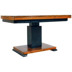 "Rare swedish adjustable Otto Wretling table, ""Idealbordet"", patented."