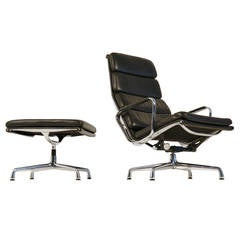 Ea222& ea223 lounge chair by charles Eames for Heman Miller.