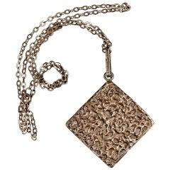 Sterling Silver, Bengt Hallberg, 1971, necklace.