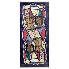 Reel Cool And Impressive Swedish Mosaic Coffee Table, 1958