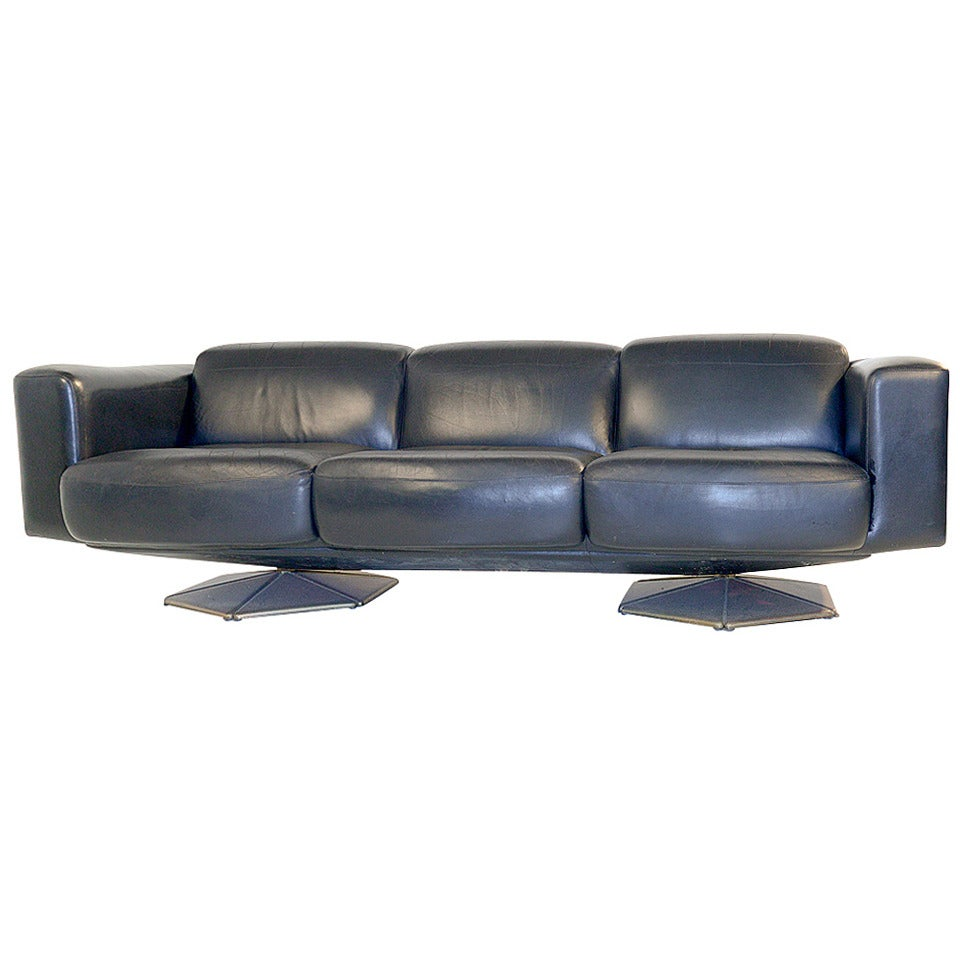 very rare finnish prisma sofa by voitto haapalainen at 1stdibs. Black Bedroom Furniture Sets. Home Design Ideas