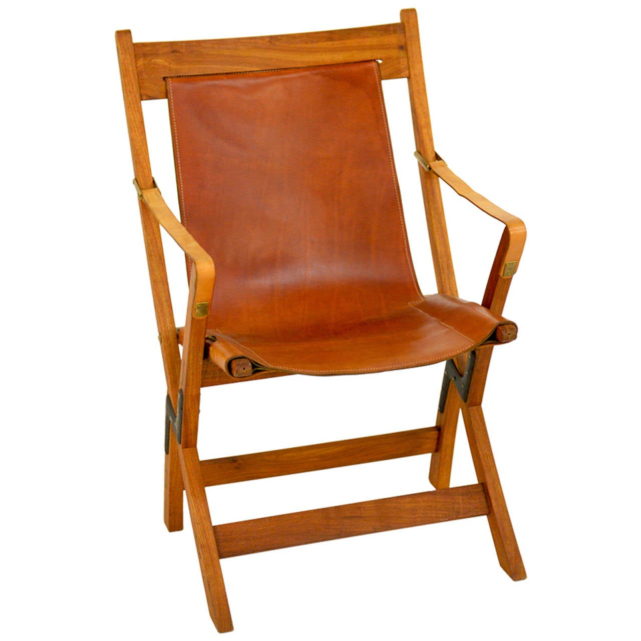 Prototype Jens Quistgaard Sax Folding Chair For Sale At