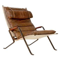 Rare Grasshopper Lounge Chair