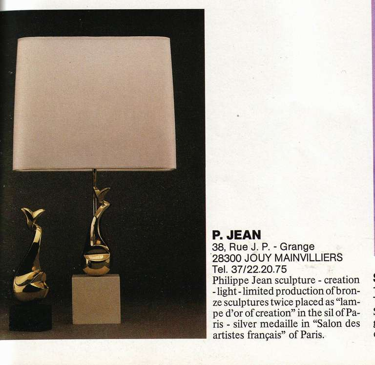 Illuminated Sculptural Table by Ph Jean for Galerie Eric and Xiane Germain Paris For Sale 3