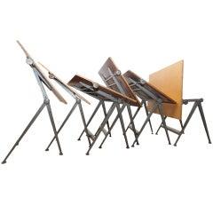 """Reply"" drafting table by Friso Kramer & Wim Rietveld, Ahrend de Cirkel,1963"