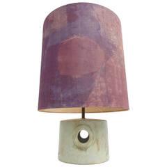 Rare Piet Knepper for Mobach Dutch Ceramic table lamp C. 1965