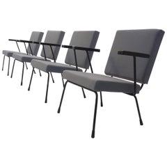 4 Wim Rietveld nr.1401 easy chair for Gispen, The Netherlands 1954