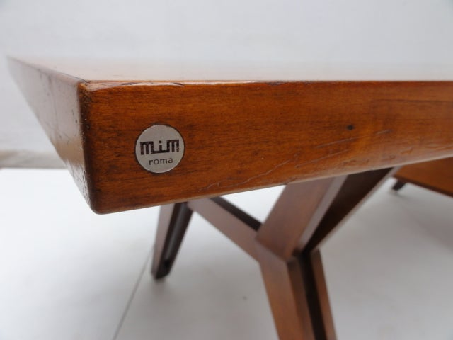Mid-Century Modern Ico Parisi ''Terni'' Executive Desk, 1958, Published MIM Roma, Italy For Sale