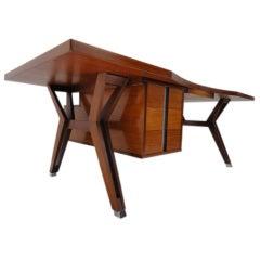 Ico Parisi ''TERNI'' executive desk, 1958, published