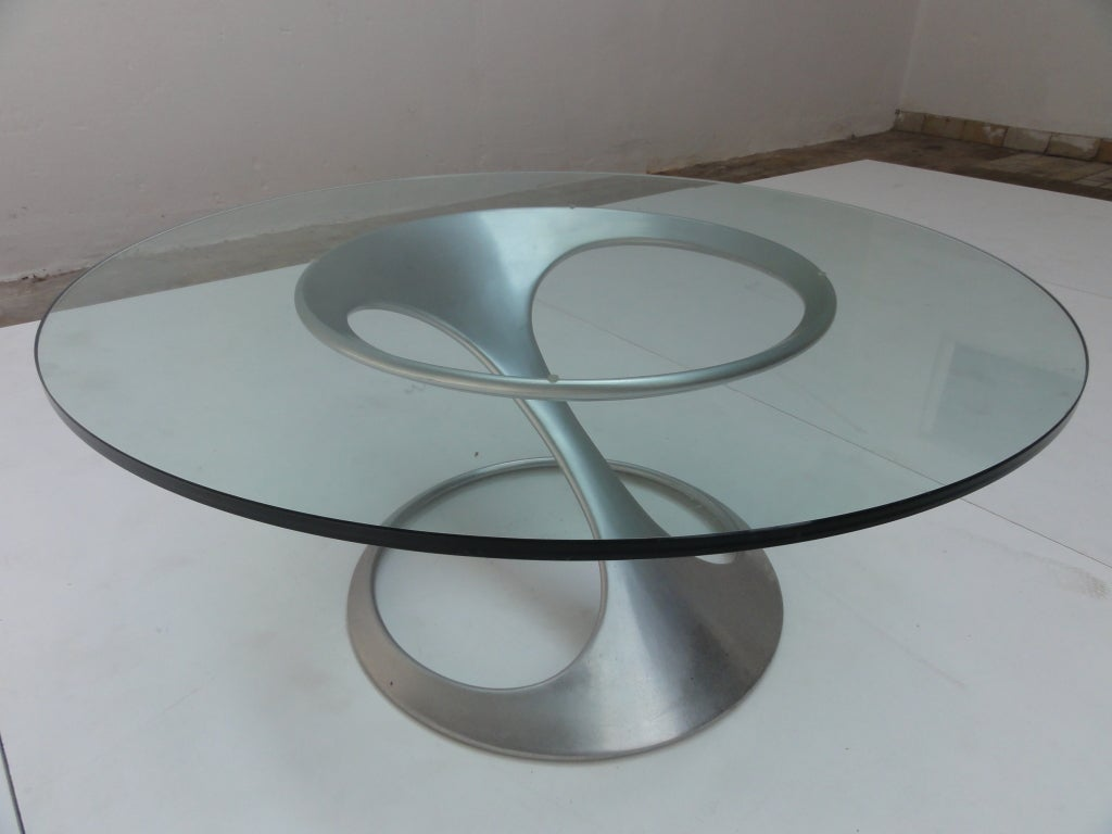 Rare Free Form Table By Sculptor Knut Hesterberg