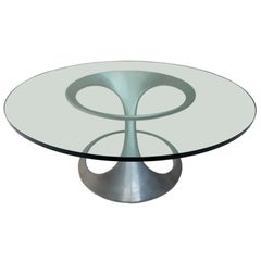 Rare Free-Form Table by Sculptor Knut Hesterberg, Published