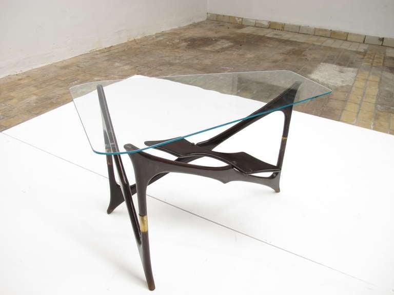 Superb biomorphic form italian 50 39 s design coffee table at - Coffee table italian design ...