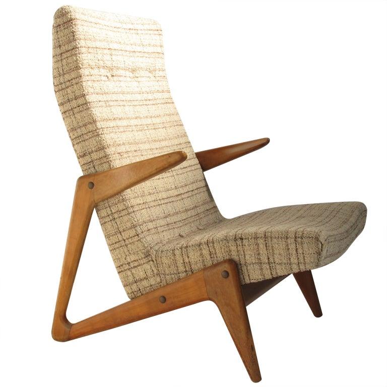 1950 S Wood Furniture ~ Alfred hendrickx s organic wood chair belform