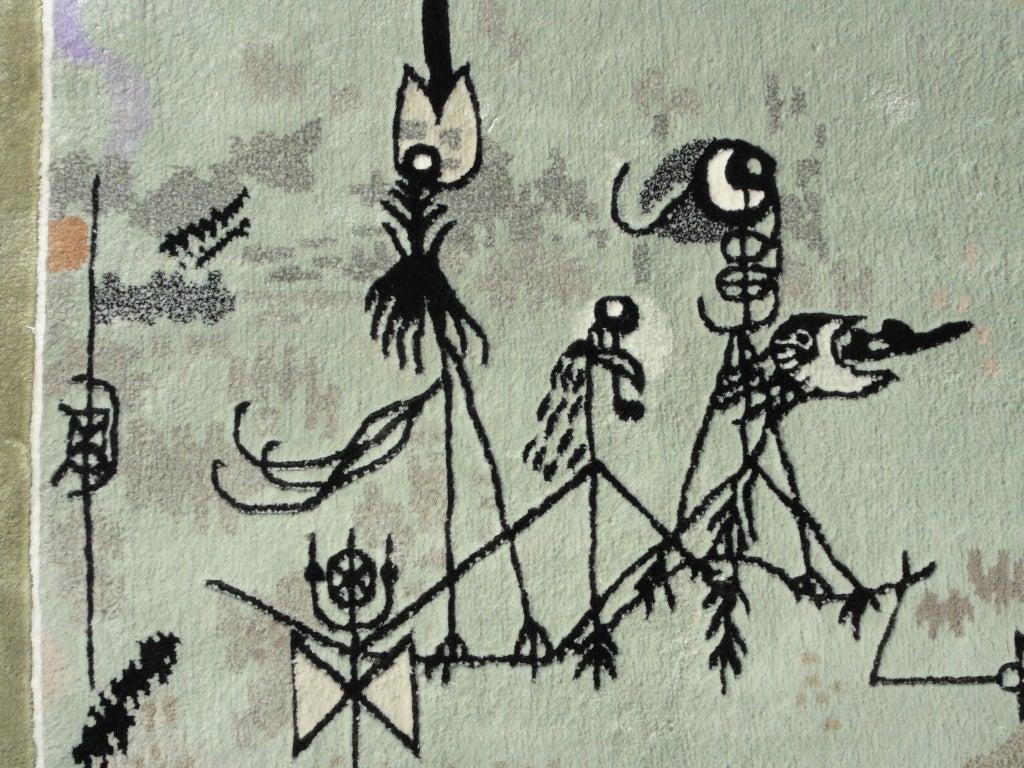 Twittering Machine >> Paul Klee Twittering Machine Wall Rug Ege Axminster Denmark
