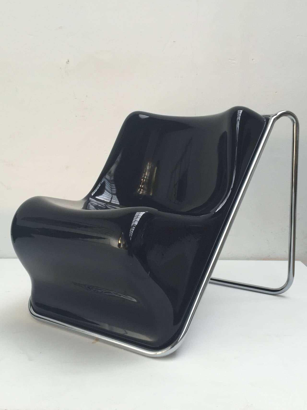 P110 Lounge Chairs by Rosselli, Partner of Gio Ponti, Exhibited at MoMA, NY 2