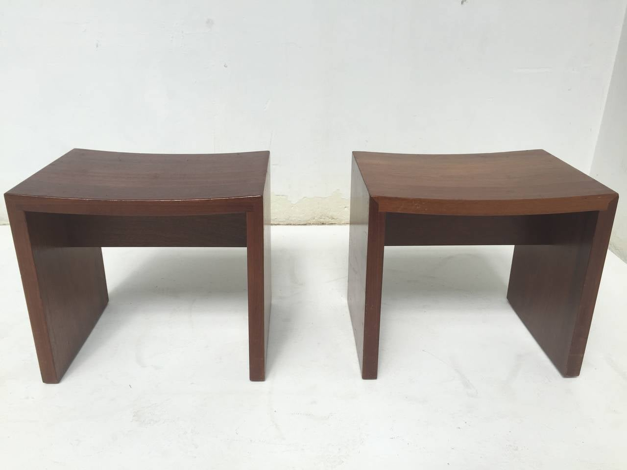 Unique Set Of Solid Mahogany Church Seats By Dutch