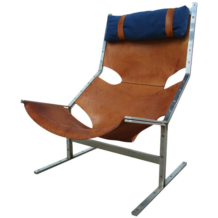 Pierre Paulin Pre Study 444 Lounge Chair A Polack Originals At 1stdibs