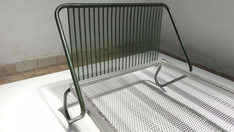 1952 'Miami' Daybed by Jacques Hitier for the Famous 'Antony' Building, Paris For Sale 2