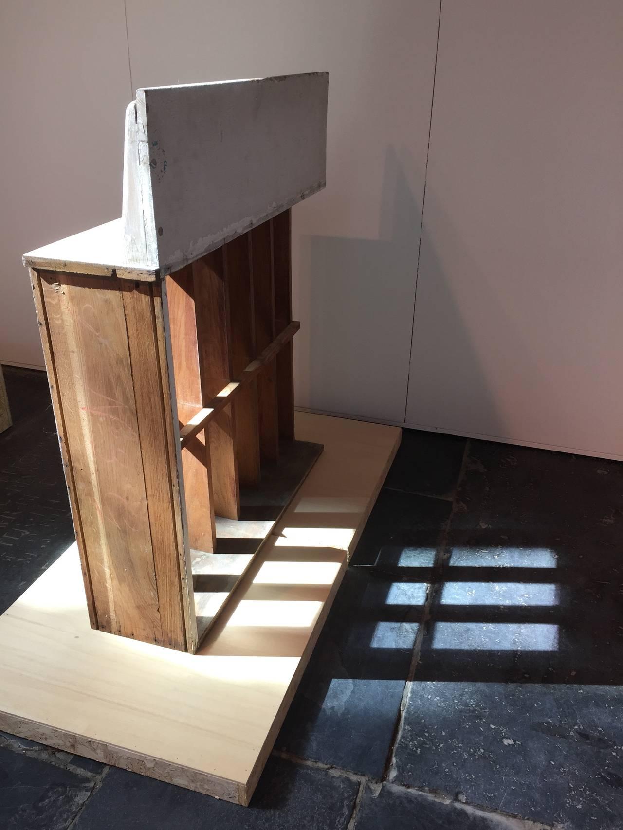 Salvaged Oak Brise Soleil From The Le Corbusier S Unite