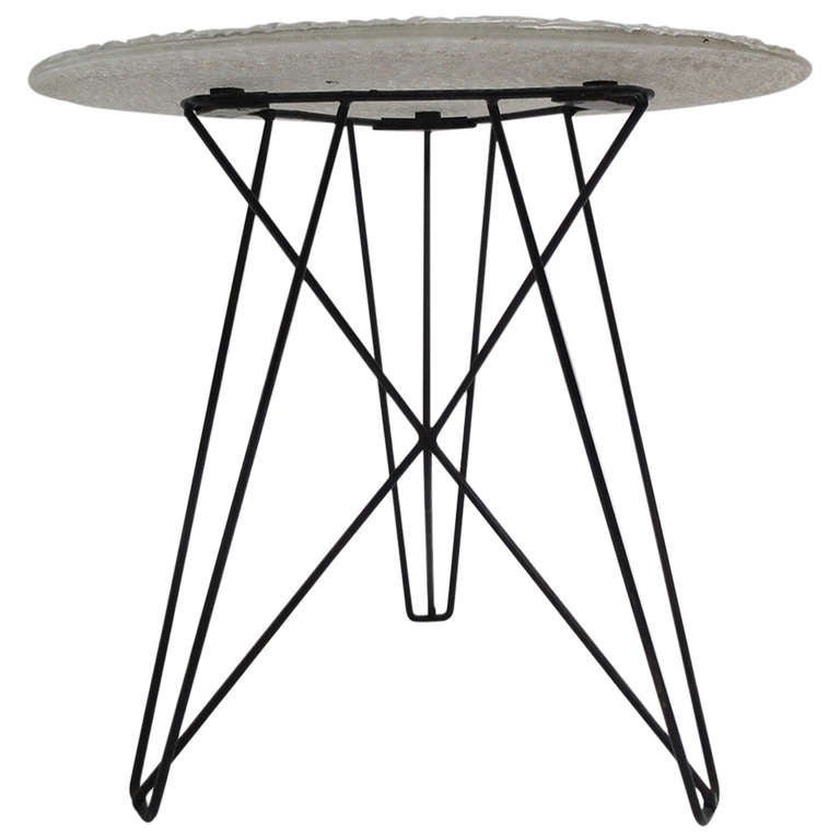 Rare Important Cobra and Situationist Group Artist CONSTANT Custom Table