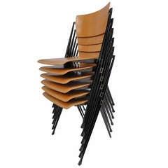 Wim Rietveld ''Pyramid'' chairs Ahrend De Cirkel The Netherlands