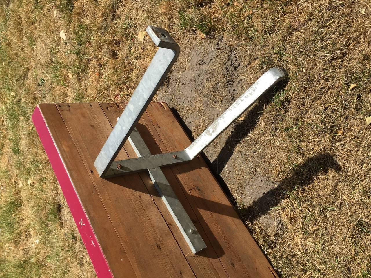 Monumental Custom Ordered Bench by Benedictus & Architect Dom Hans van der Laan For Sale 2
