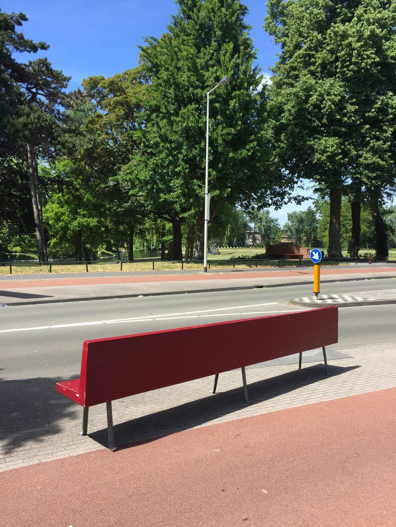 Dutch Monumental Custom Ordered Bench by Benedictus & Architect Dom Hans van der Laan For Sale