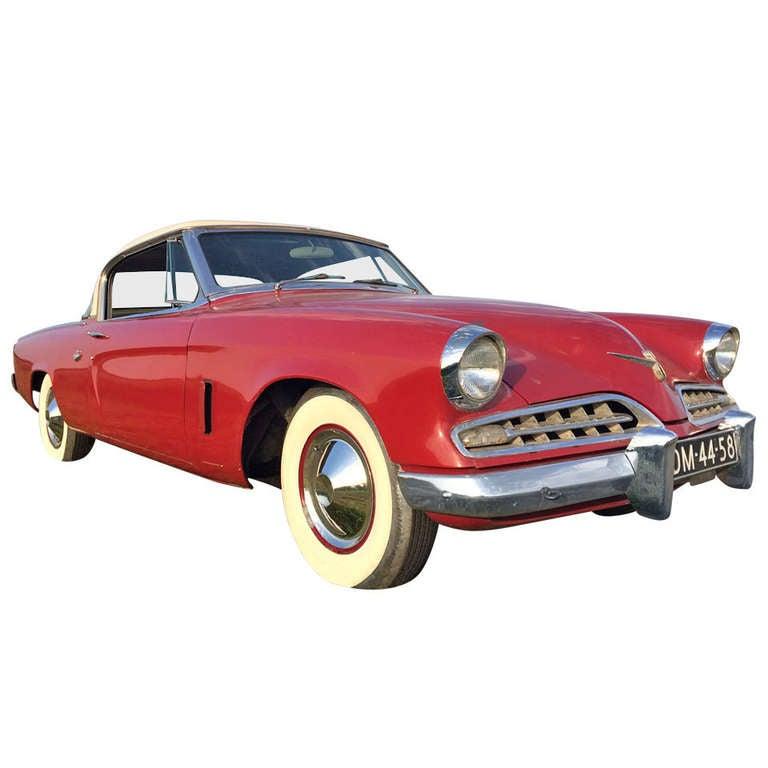 Raymond Loewy & Bourke Classic Studebaker Commander Starlight Coupe, 1954, USA 1