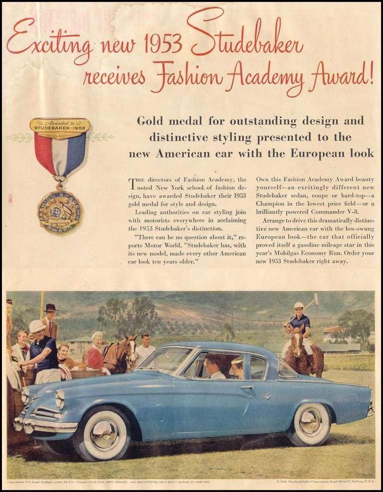 Raymond Loewy & Bourke Classic Studebaker Commander Starlight Coupe, 1954, USA 10