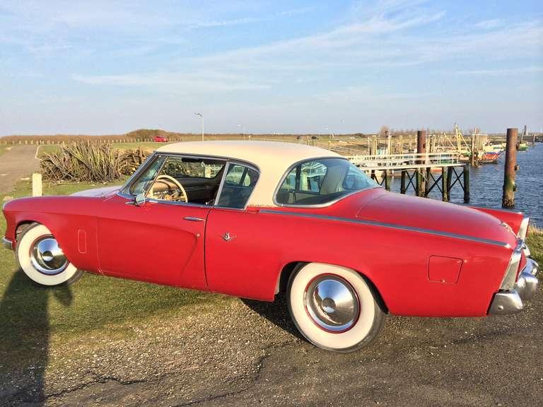 Raymond Loewy & Bourke Classic Studebaker Commander Starlight Coupe, 1954, USA 7