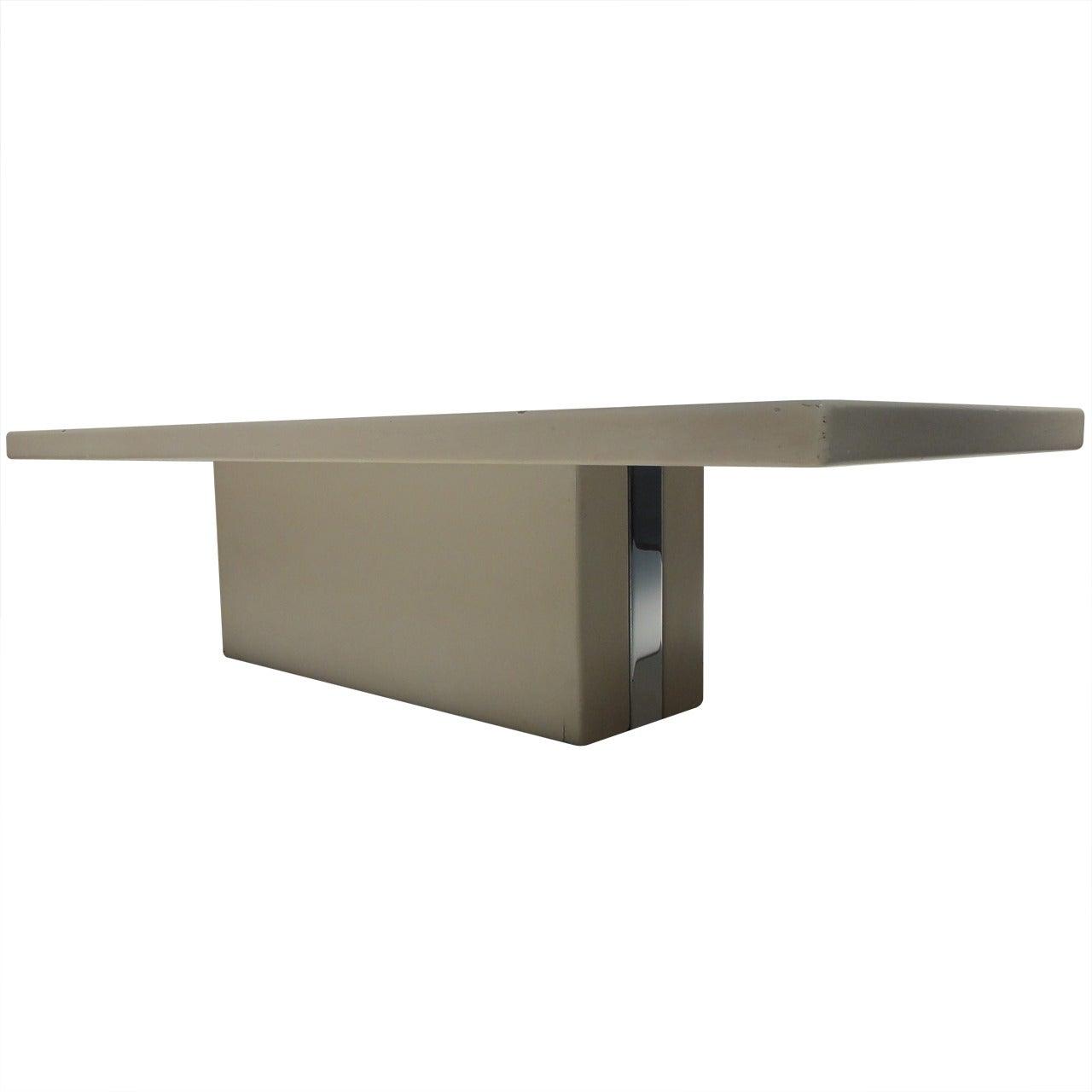 Rare coffee table by italian architect Lorenzo Forges Davanzati, 1961,published